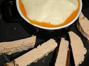 Veloute potimarron espuma d'artichaut mouillettes foie gras