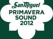 Nouveaux noms Primavera Sound 2012