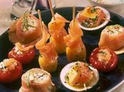 Amuses bouche festives gourmandes autour saumon norvège
