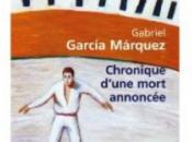 Chronique d'une mort annoncée Gabriel Garcia Marquez (J-3