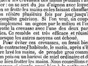 Mains hiver bons conseils Gazette Medecine (1863)