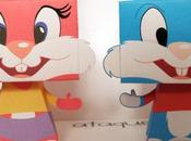 Papertoys Babs Buster Bunny