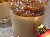 Panna cotta foie gras confit d'oignon maison
