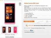 Nokia Lumia rose bientôt disponible chez Orange