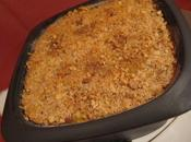 Hachis potiron boeuf avec croûte cacahuète