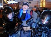Russie forces spéciales renfort contre anti-Poutine Moscou