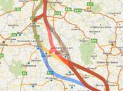 tracé pour future Clermont-Paris