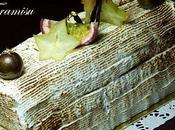 Bûche Tiramisu ananas-passion
