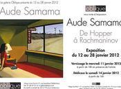 Exposition Aude Samama Galerie Oblique janvier 2012