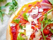 Pizza {Roquette-Parmesan- italien}