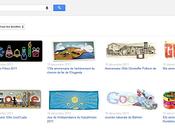 Google galerie doodles 1998 aujourd'hui