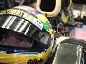 Bruno Senna discute avec Williams