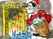 Mario Draghi, père Noël banquiers