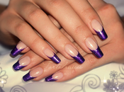 Choisir french manucure dramatic violette