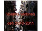 Défi Voisins Voisines Bilan décembre 2011