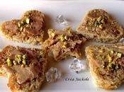 """Toasts pain d""""épices foie gras pistaches"""