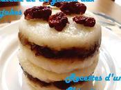 Gâteau gluant jujubes 红枣糯米糕 hóngzǎo nuòmǐ