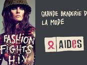 "Grande braderie mode ""Fashion Fight H.I.V."" profit l'association AIDES"