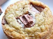 Cookies très moelleux barres kinder