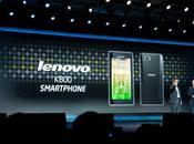 Lenovo k800 officialisera l'arrivée d'Intel marché Smartphones Android