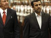 Mahmoud Ahmadinejad reçu Cuba