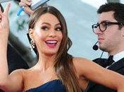 belle Sofia Vergara choque public Golden Globes