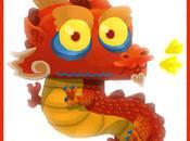Bonne Année Chinoise Dragon