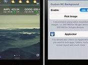 CustomNCBackground, pour personnaliser fond centre notifications iPhone...