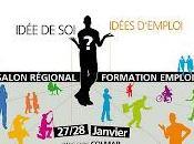 Stand Scène l'Europe Salon Régional Formation Emploi Colmar dispositif Jeunesse mouvement