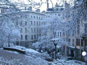 Lyon sous neige