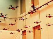 ballet quadricopters volant l'unisson