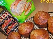 Muffins extras farine pain céréales Mascarpone