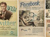 Twitter, Facebook, Skype Youtube existaient déjà dans années