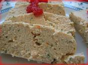 Terrine saumon tofu soyeux cuit-vapeur