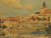 peintre paysagiste Petitjean Pont-du-Château