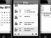 Agenda Calendar iPhone iPad, universellement accepté...