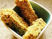 Barre céréales sans gluten millet pruneaux