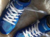 Blue (pas Suede) Shoes
