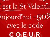 Offre spéciale Saint Valentin: bonne fête toutes tous!!