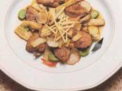 Fritots filets canard pousses bambou