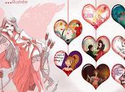 Valentin pour Fashion Week Illustrée