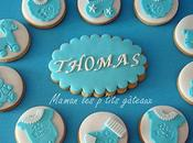Baby shower garcon cucpakes biscuits decores
