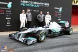 Officiel présentation Mercedes