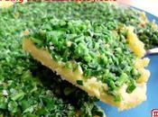 """Bing: """"Pizza"""" chinoise campagnarde 韭菜花烀饼 jiǔcàihuā hūbǐng"""