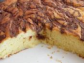 Gâteau yaourt marbré nutella