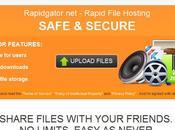 site partage fichiers RapidGator privé PayPal