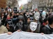 Anonymous Protest ACTA PARIS
