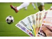 footballeurs jouent pour l'argent