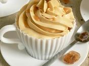 Cupcakes Caramel Latte Macchiato Café/ leur glaçage crème beurre meringue suisse Sirop La...