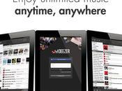 Deezer jour application pour iPad